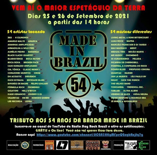 Entidade Blues Made In Brazil